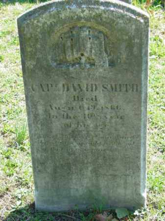 SMITH, CAPT. DAVID - Talbot County, Maryland | CAPT. DAVID SMITH - Maryland Gravestone Photos