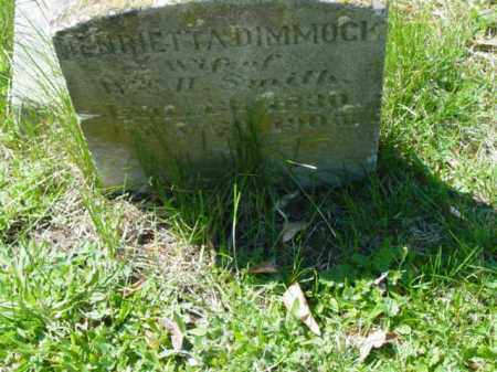 SMITH, HENRIETTA - Talbot County, Maryland | HENRIETTA SMITH - Maryland Gravestone Photos