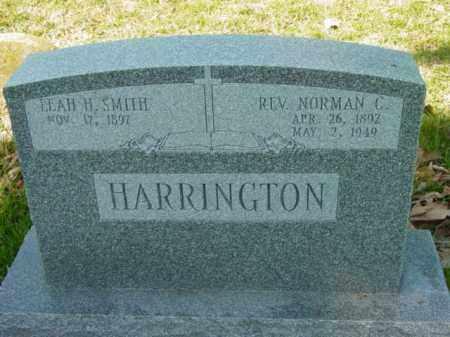 HARRINGTON, REV. NORMAN C. - Talbot County, Maryland | REV. NORMAN C. HARRINGTON - Maryland Gravestone Photos