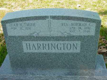 HARRINGTON, REV. NORMAN C. - Talbot County, Maryland | REV. NORMAN C. HARRINGTON - Maryland Gravestone Photos