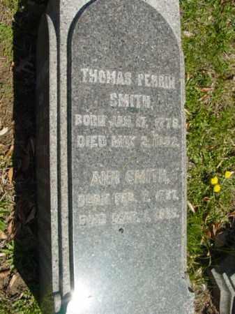 SMITH, THOMAS PERRIN - Talbot County, Maryland | THOMAS PERRIN SMITH - Maryland Gravestone Photos