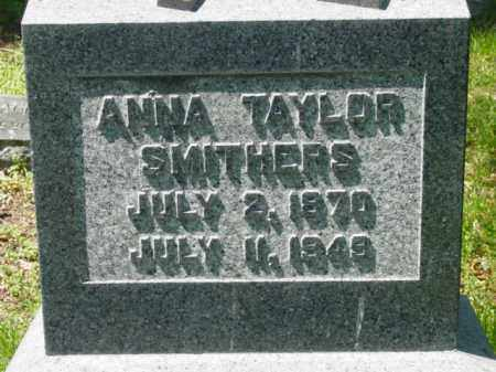 SMITHERS, ANNA - Talbot County, Maryland   ANNA SMITHERS - Maryland Gravestone Photos
