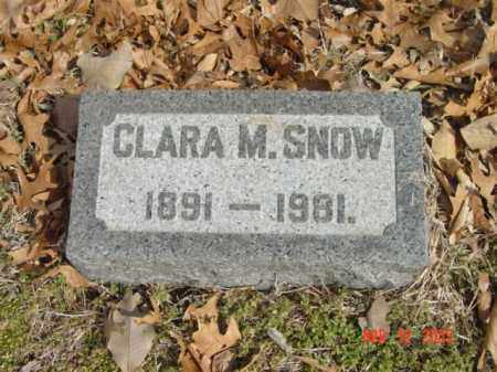 SNOW, CLARA M. - Talbot County, Maryland | CLARA M. SNOW - Maryland Gravestone Photos