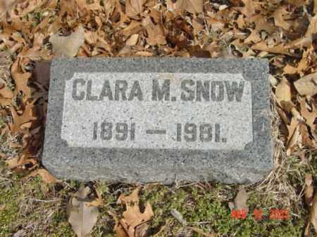 SNOW, CLARA M. - Talbot County, Maryland   CLARA M. SNOW - Maryland Gravestone Photos