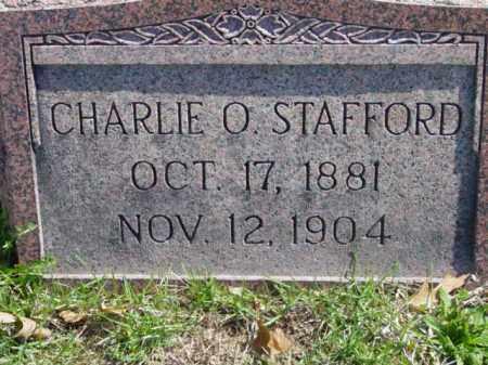 STAFFORD, CHARLIE O. - Talbot County, Maryland | CHARLIE O. STAFFORD - Maryland Gravestone Photos