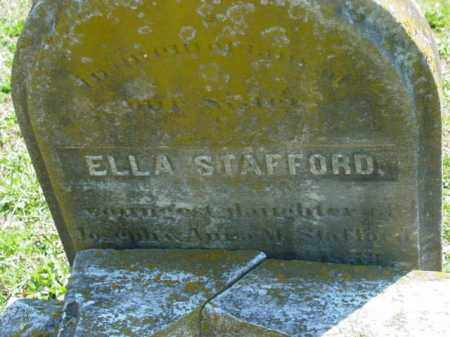STAFFORD, ELLA - Talbot County, Maryland | ELLA STAFFORD - Maryland Gravestone Photos