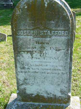STAFFORD, JOSEPH - Talbot County, Maryland | JOSEPH STAFFORD - Maryland Gravestone Photos