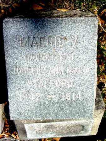 STAFFORD, MAGGIA A. - Talbot County, Maryland | MAGGIA A. STAFFORD - Maryland Gravestone Photos