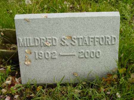 STAFFORD, MILDRED S. - Talbot County, Maryland | MILDRED S. STAFFORD - Maryland Gravestone Photos
