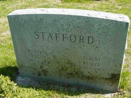 WRIGHT STAFFORD, WIBERTA - Talbot County, Maryland | WIBERTA WRIGHT STAFFORD - Maryland Gravestone Photos