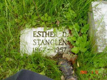 STANCLEN, ESTHER D. - Talbot County, Maryland   ESTHER D. STANCLEN - Maryland Gravestone Photos