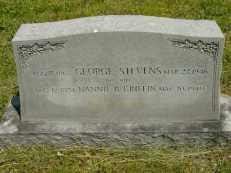 STEVENS, NANNIE B. - Talbot County, Maryland | NANNIE B. STEVENS - Maryland Gravestone Photos