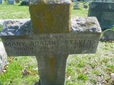 STEVENS, MARY ADALINE - Talbot County, Maryland | MARY ADALINE STEVENS - Maryland Gravestone Photos