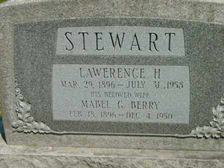 BERRY STEWART, MABEL G. - Talbot County, Maryland | MABEL G. BERRY STEWART - Maryland Gravestone Photos