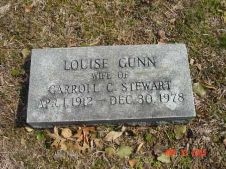 STEWART, LOUISE GUNN - Talbot County, Maryland | LOUISE GUNN STEWART - Maryland Gravestone Photos