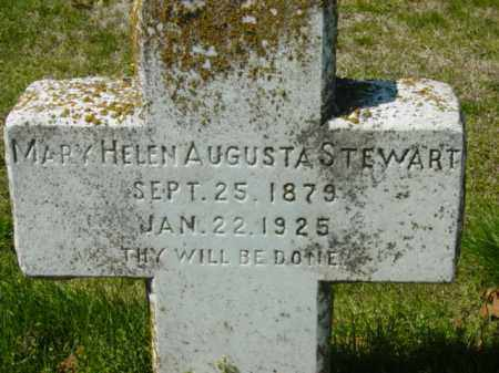 AUGUSTA STEWART, MARY HELEN - Talbot County, Maryland | MARY HELEN AUGUSTA STEWART - Maryland Gravestone Photos