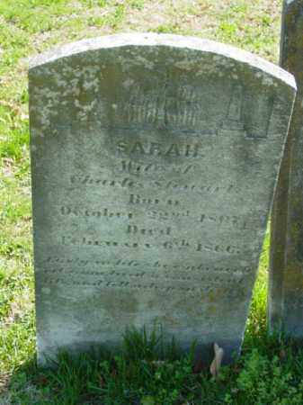 STEWART, SARAH - Talbot County, Maryland | SARAH STEWART - Maryland Gravestone Photos