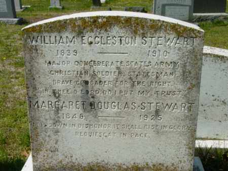 STEWART, WILLIAM ECCLESTON - Talbot County, Maryland | WILLIAM ECCLESTON STEWART - Maryland Gravestone Photos