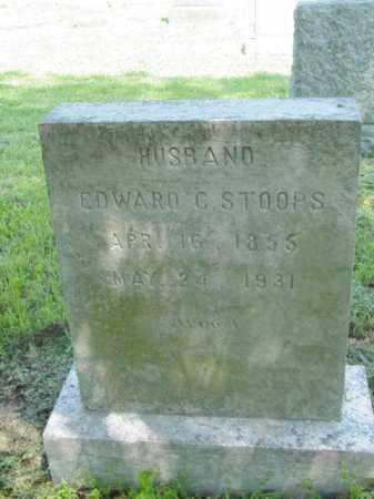 STOOPS, EDWARD C. - Talbot County, Maryland | EDWARD C. STOOPS - Maryland Gravestone Photos