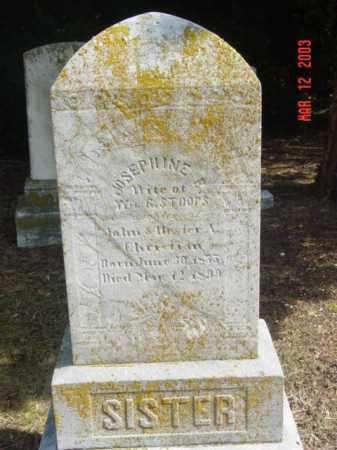 STOOPS, JOSEPHINE B. - Talbot County, Maryland   JOSEPHINE B. STOOPS - Maryland Gravestone Photos