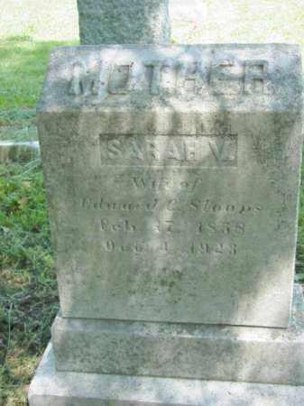 STOOPS, SARAH V. - Talbot County, Maryland   SARAH V. STOOPS - Maryland Gravestone Photos