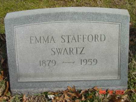 SWARTZ, EMMA STAFFORD - Talbot County, Maryland | EMMA STAFFORD SWARTZ - Maryland Gravestone Photos