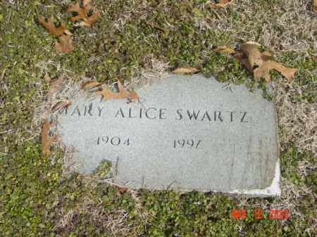 SWARTZ, MARY ALICE - Talbot County, Maryland | MARY ALICE SWARTZ - Maryland Gravestone Photos