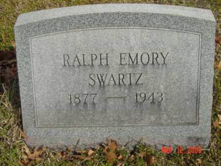SWARTZ, RALPH EMORY - Talbot County, Maryland | RALPH EMORY SWARTZ - Maryland Gravestone Photos