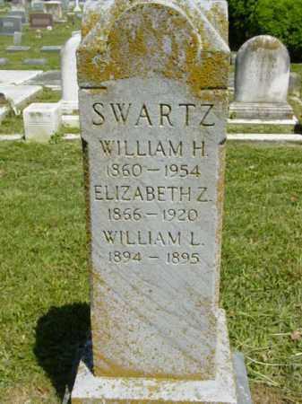 SWARTZ, WILLIAM L. - Talbot County, Maryland | WILLIAM L. SWARTZ - Maryland Gravestone Photos