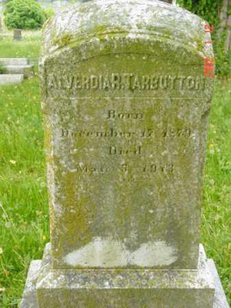 TARBUTTON, ALVERDIA R. - Talbot County, Maryland | ALVERDIA R. TARBUTTON - Maryland Gravestone Photos