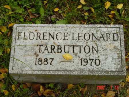 LEONARD TARBUTTON, FLORENCE - Talbot County, Maryland   FLORENCE LEONARD TARBUTTON - Maryland Gravestone Photos