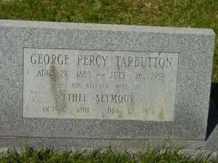SEYMOUR TARBUTTON, ETHEL - Talbot County, Maryland   ETHEL SEYMOUR TARBUTTON - Maryland Gravestone Photos