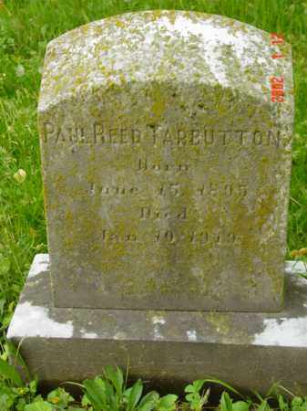 TARBUTTON, PAUL REED - Talbot County, Maryland   PAUL REED TARBUTTON - Maryland Gravestone Photos