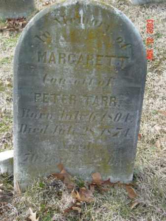 TARR, MARGARET T. - Talbot County, Maryland   MARGARET T. TARR - Maryland Gravestone Photos