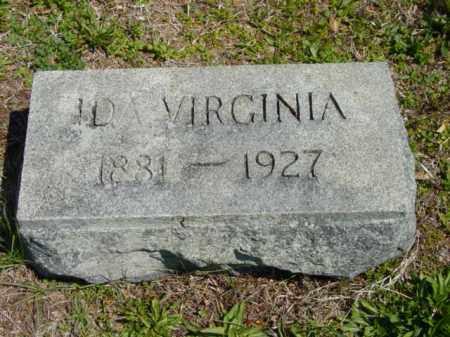 TAYLOR, IDA VIRGINIA - Talbot County, Maryland | IDA VIRGINIA TAYLOR - Maryland Gravestone Photos