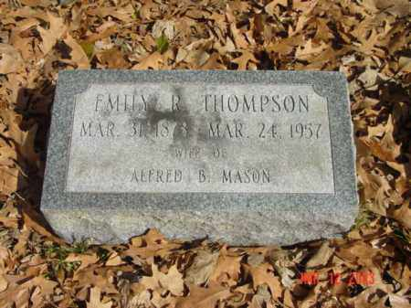 THOMPSON, EMILY R. - Talbot County, Maryland | EMILY R. THOMPSON - Maryland Gravestone Photos
