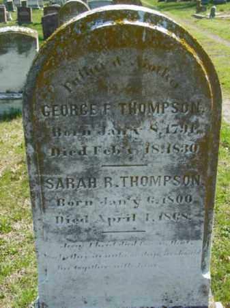THOMPSON, SARAH R. - Talbot County, Maryland | SARAH R. THOMPSON - Maryland Gravestone Photos