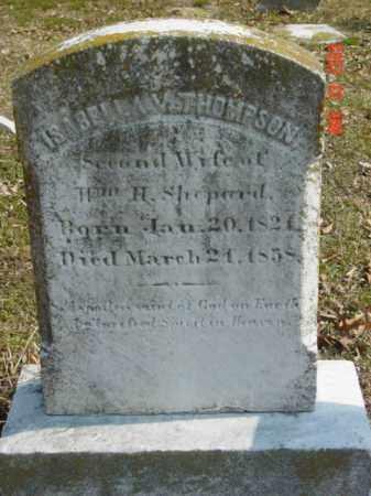 THOMPSON, ISABELLA V. - Talbot County, Maryland | ISABELLA V. THOMPSON - Maryland Gravestone Photos
