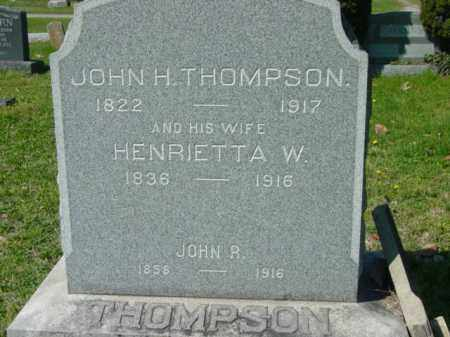 THOMPSON, JOHN H. - Talbot County, Maryland | JOHN H. THOMPSON - Maryland Gravestone Photos