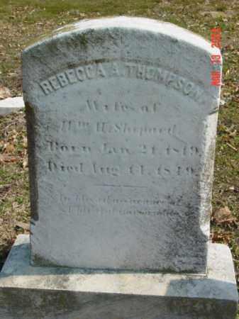 THOMPSON, REBECCA A. - Talbot County, Maryland   REBECCA A. THOMPSON - Maryland Gravestone Photos