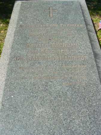 HARRISON TILGHMAN, BELL - Talbot County, Maryland | BELL HARRISON TILGHMAN - Maryland Gravestone Photos