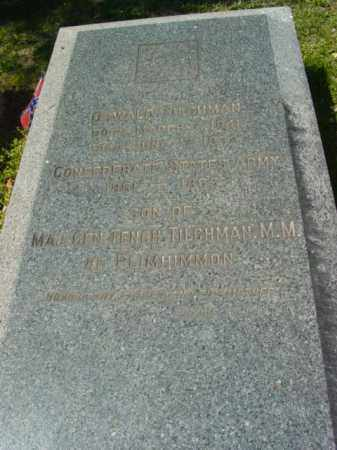 TILGHMAN, OSWALD - Talbot County, Maryland | OSWALD TILGHMAN - Maryland Gravestone Photos