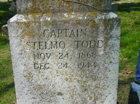 TODD, CAPTAIN ST. ELMO - Talbot County, Maryland | CAPTAIN ST. ELMO TODD - Maryland Gravestone Photos