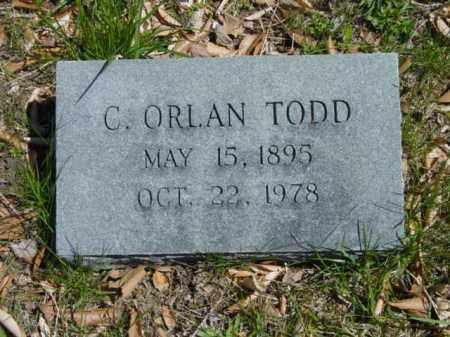 TODD, C. ORLAN - Talbot County, Maryland | C. ORLAN TODD - Maryland Gravestone Photos