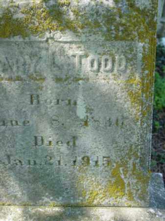 TODD, MARY L. - Talbot County, Maryland | MARY L. TODD - Maryland Gravestone Photos