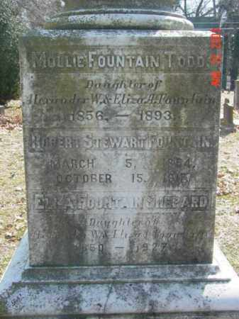 FOUNTAIN SHEPARD, ELLA - Talbot County, Maryland | ELLA FOUNTAIN SHEPARD - Maryland Gravestone Photos
