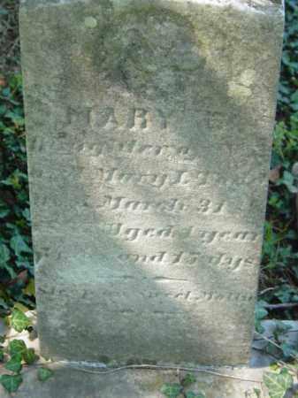 TODD, MARY E. - Talbot County, Maryland | MARY E. TODD - Maryland Gravestone Photos