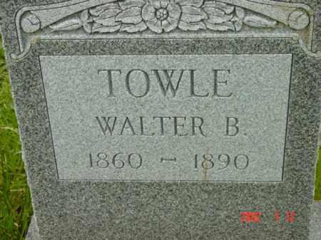 TOWLE, WALTER B. - Talbot County, Maryland | WALTER B. TOWLE - Maryland Gravestone Photos