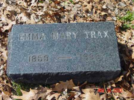 TRAX, EMMA MARY - Talbot County, Maryland | EMMA MARY TRAX - Maryland Gravestone Photos