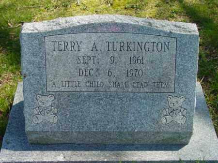 TURKINGTON, TERRY A. - Talbot County, Maryland | TERRY A. TURKINGTON - Maryland Gravestone Photos